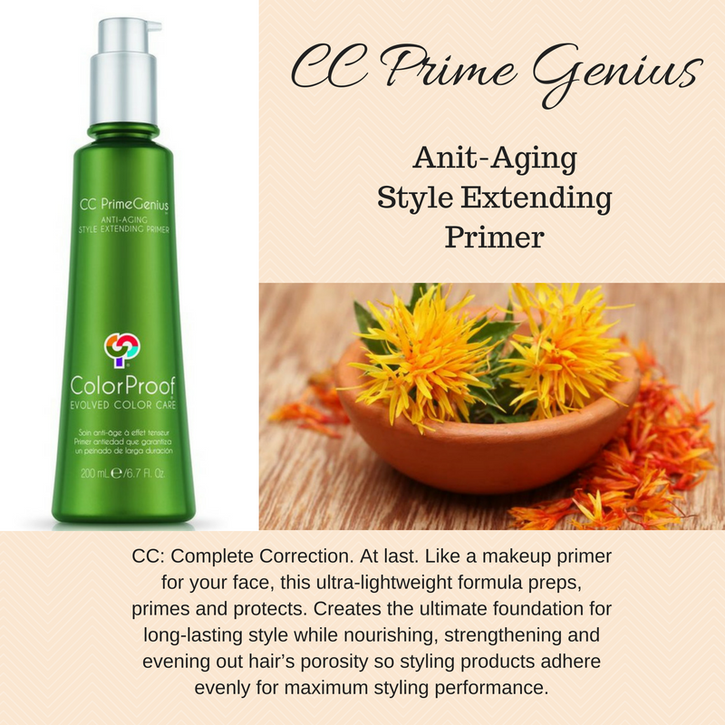 Introducing CC Prime Genius to our retail shelf at Innovations! Prime your face? Well now it's time to prime your hair.