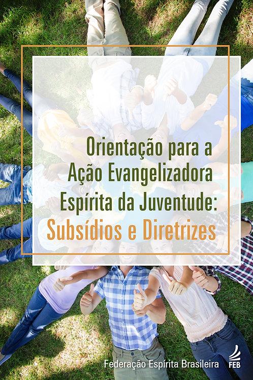 Orientação para a Ação Evangelizadora Espírita da Juventude: Subsídios e Diretr.
