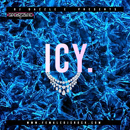 Copy of Ice Cold Blue Mixtape CD Cover -