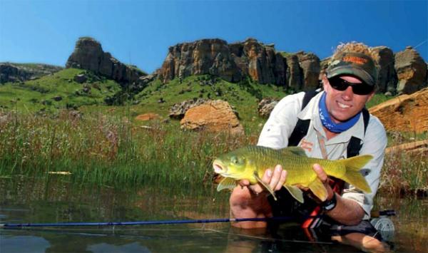 Trophy Yellowfish from Sterkfontein
