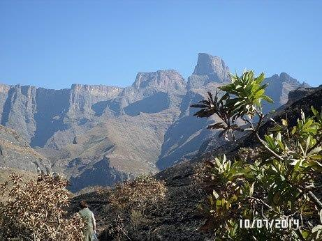 The Drakensberg, Sentinel Peak