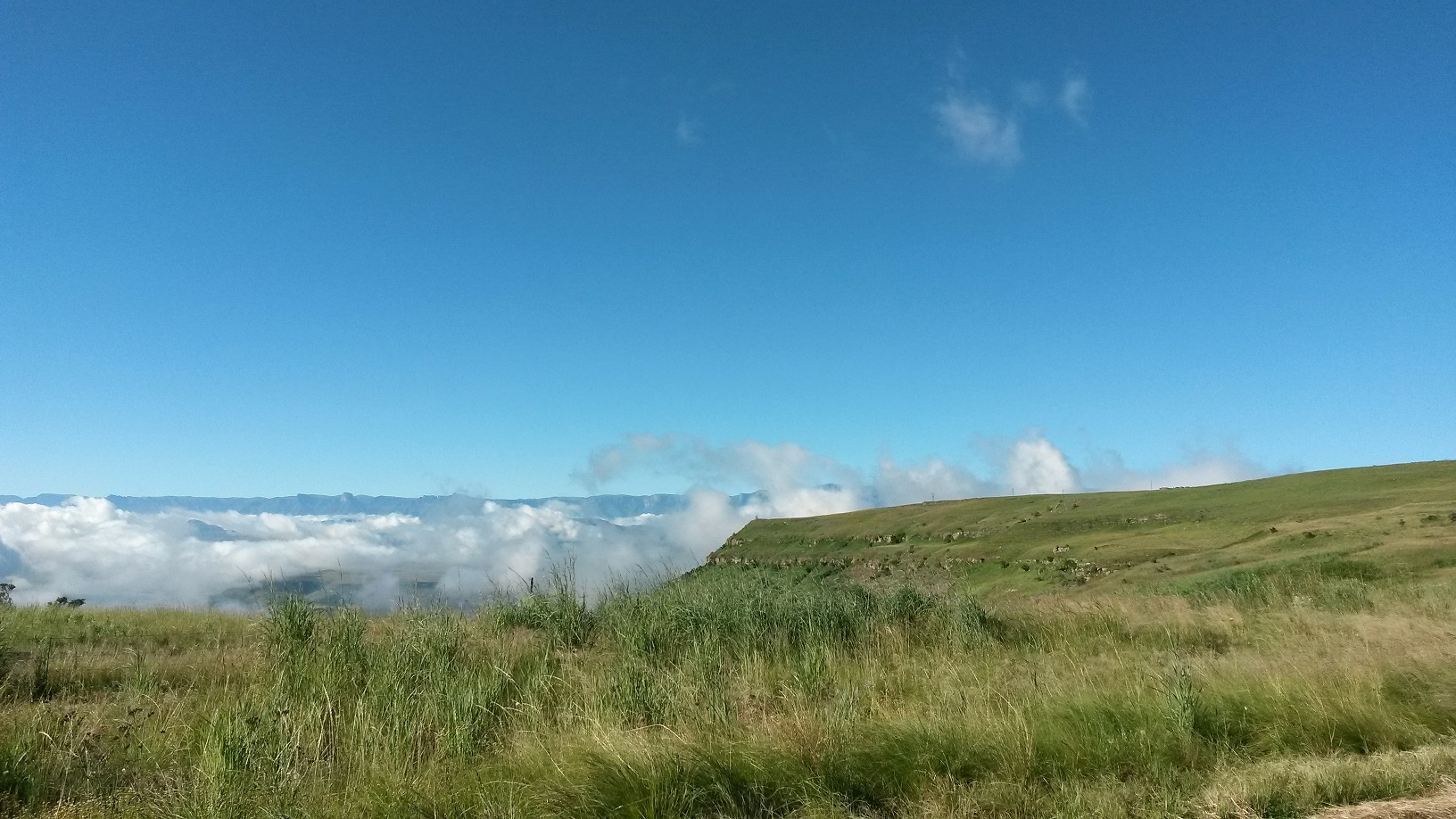 View over the clouds 1