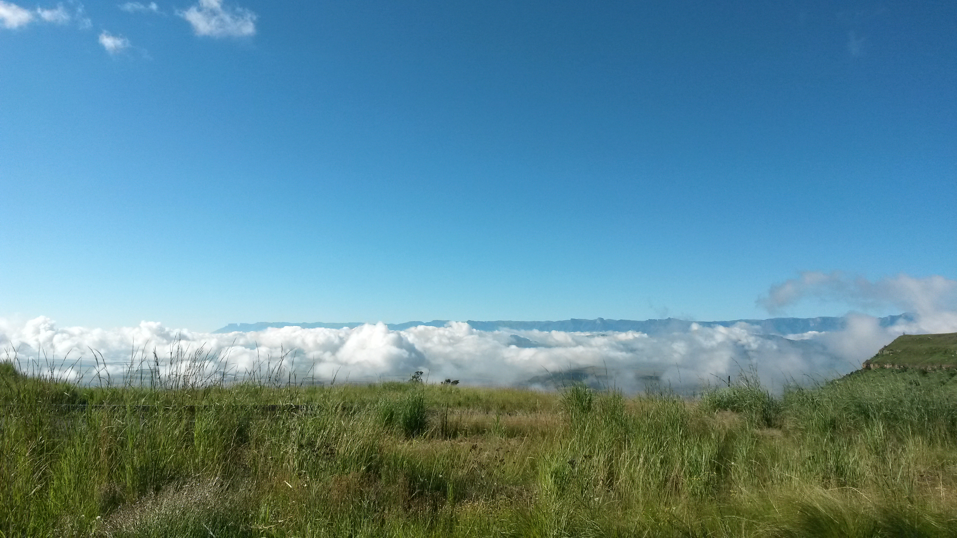 View over the clouds 3