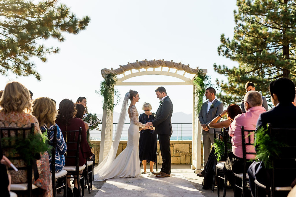 A Floral Affair- Ceremony Foliage Arch and Aisle Decorations