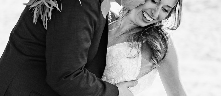 White and Champagne {Real Wedding}