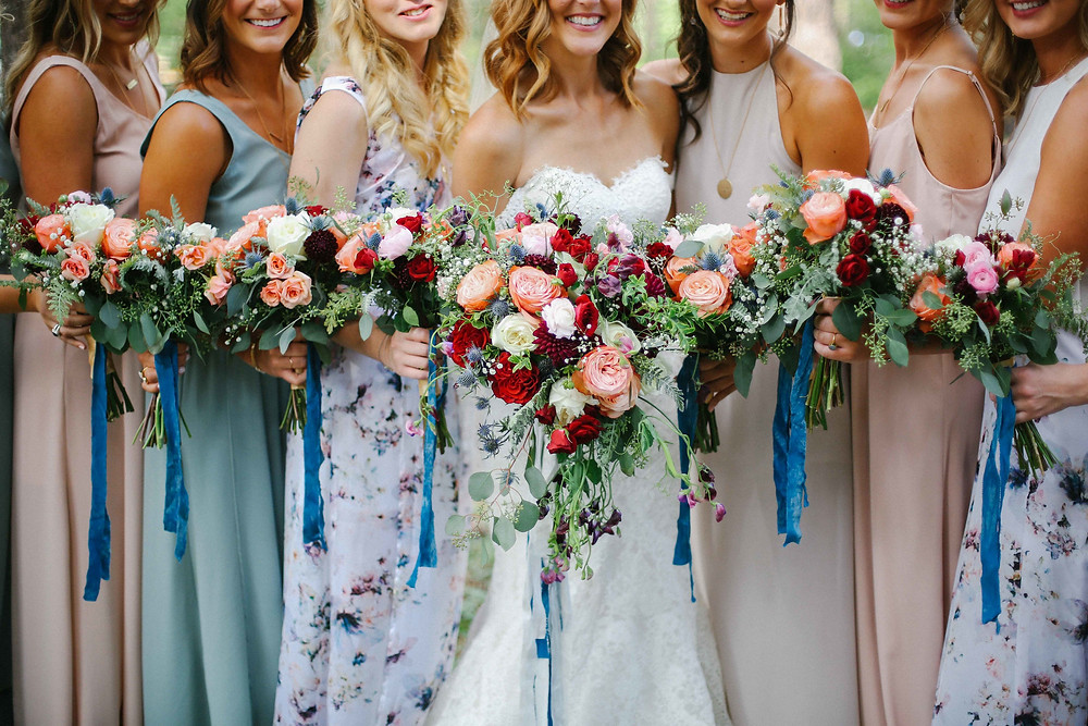 A Floral Affair Lake Tahoe Wedding