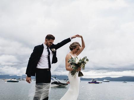 Moody Blue Lake Tahoe {REAL WEDDING}