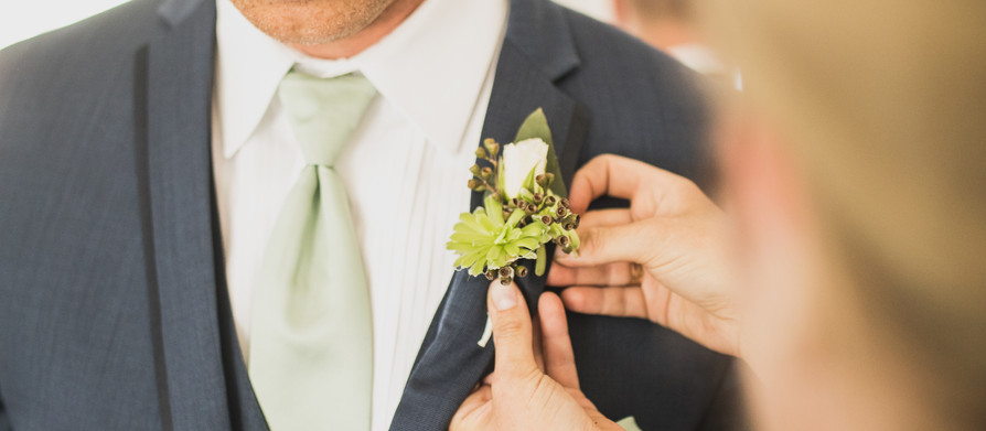 Peony and Succulent Real Wedding