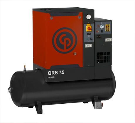 QRS-7.5-1 Chicago Pneumatic 7.5-HP Rotary Dryer