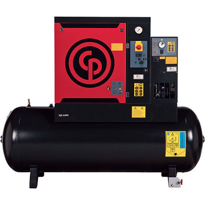 QRS-30 Chicago Pneumatic 30-HP Rotary with Dryer