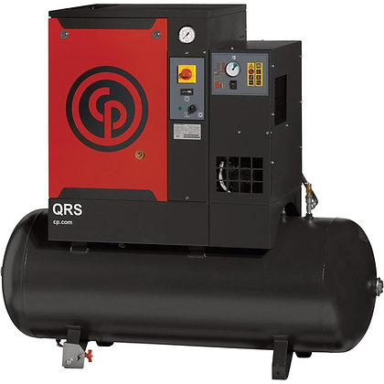 QRS-3.0-1 Chicago Pneumatic 3-HP Rotary with Dryer