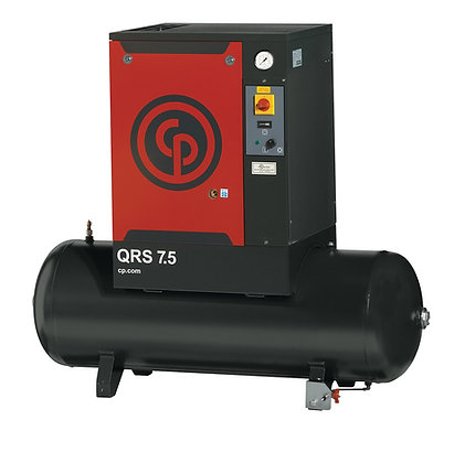 QRS-7.5-1 Chicago Pneumatic 7.5-HP Rotary