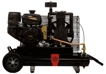 RCP-128-I Chicago Pneumatic 14-HP Two-Stage Gas