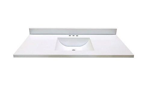 MAGICK WOODS White Wave Vanity Top
