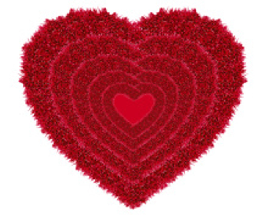 red love heart