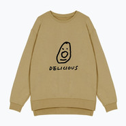 Avocado sweatshirt_sand