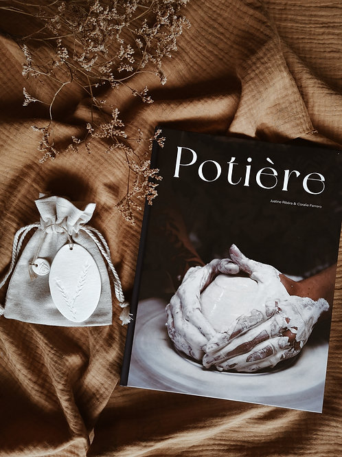 """Coffret Livre """"Potière"""" + marque-page"""