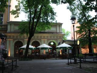 Mój Paryż - Paweł Zapendowski. Pokaz w Cafe Art. Gallery Zakopianka / Planty krakowskie.