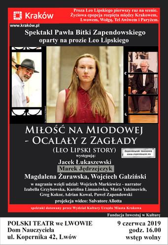 Leo Lipski w Polskim Teatrze we Lwowie