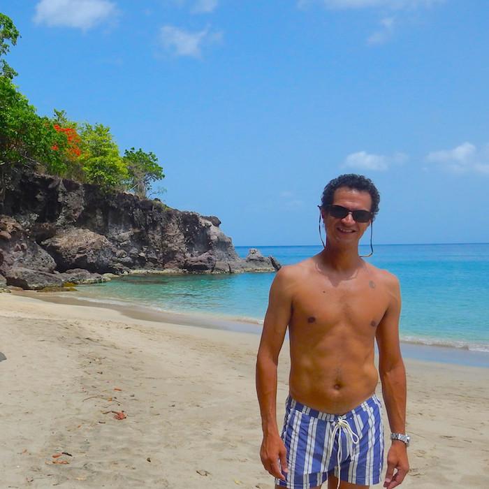 Caribbean island getaway