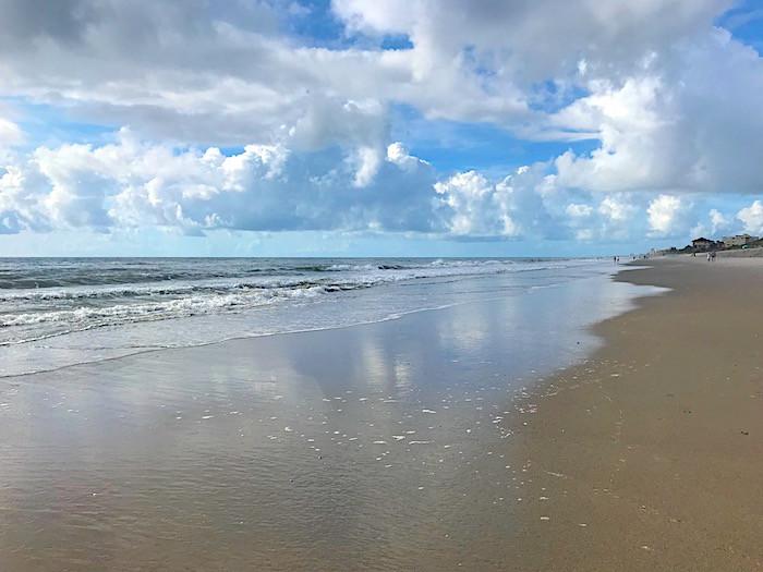 The beach at Satellite Beach