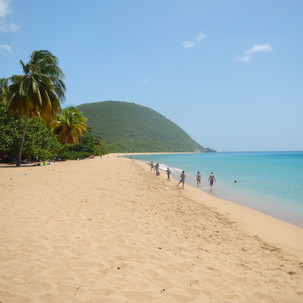 Guadeloupe's Grande Anse beach