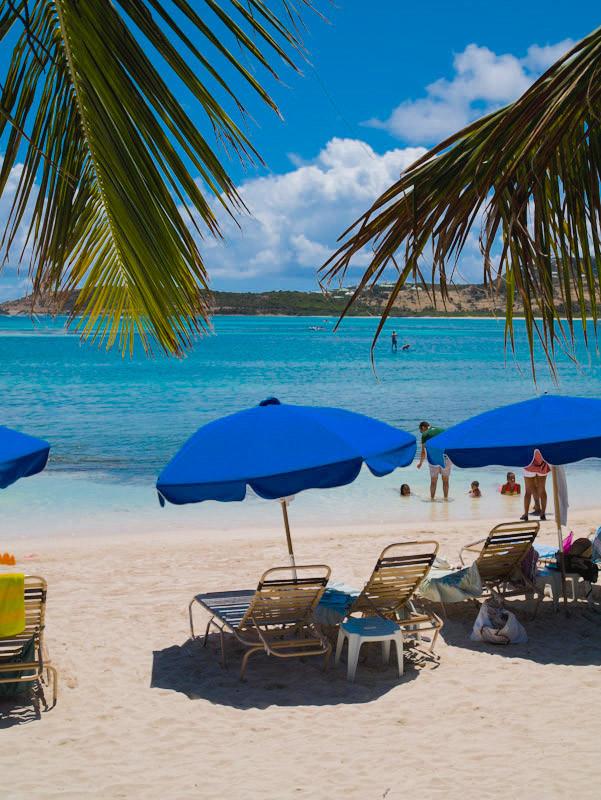 St. Martin beach