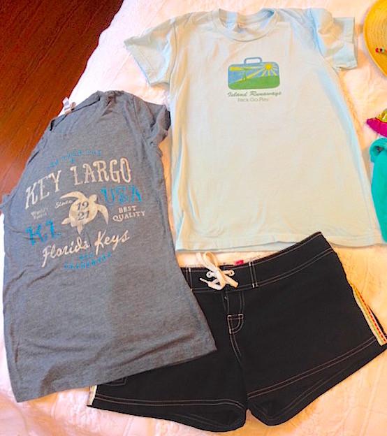 Florida Keys packing