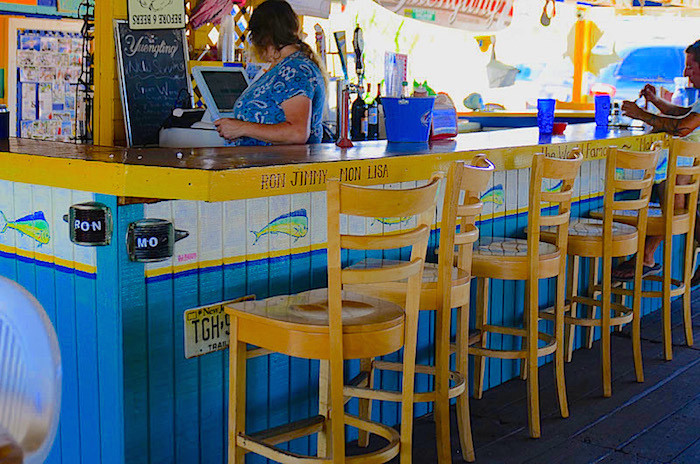 Florida Keys beach bar