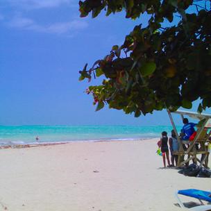 Jamaica's Fort Clarence beach: sun, sand, surf, and island eats