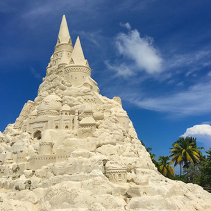 The World's Biggest Sandcastle!