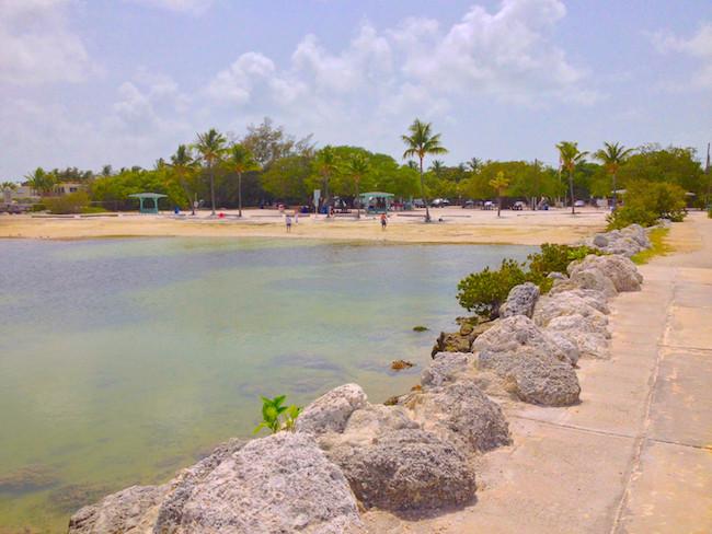 Key Largo beach