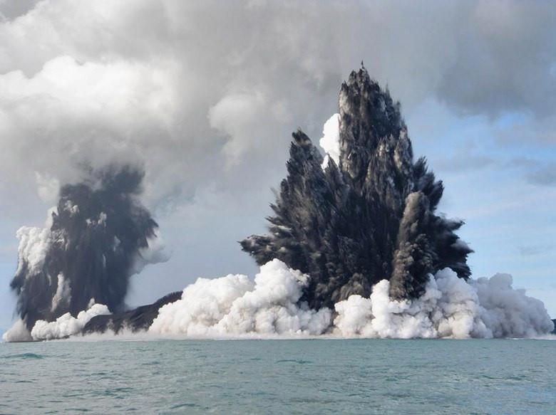 Tonga new island