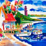 Island Arts: The Brilliantly Vibrant Watercolors of Ellen Negley