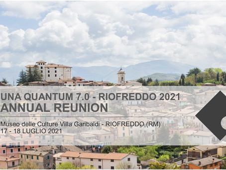 Riofreddo, 7° Congresso Nazionale Una Quantum inc.