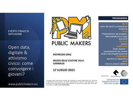 Open data, digitale & attivismo civico: come coinvolgere i giovani?