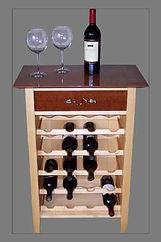 Leo Sharkey's Leslie's wine rack