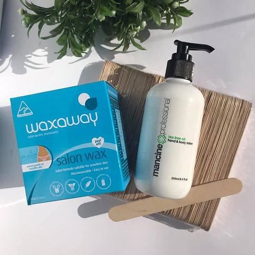 Waxing Essentials Pack - Sensitive/hypoallergenic Blue Box