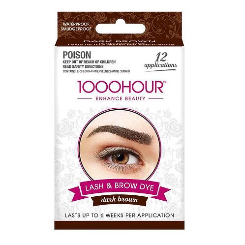 Lash & Brow Tint - DARK BROWN
