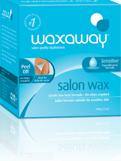 Waxaway Salon Wax Sensitive/hypoallergenic Blue Box