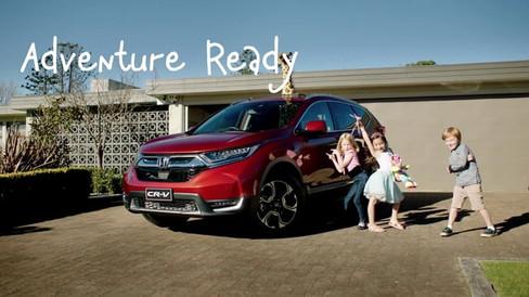 Honda CR-V - Adventure Ready