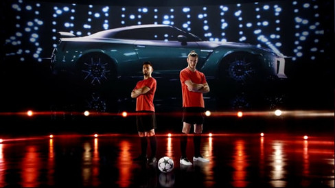 Nissan & Gareth Bale & Sergio Agüero - UEFA Champions League Ambassadors