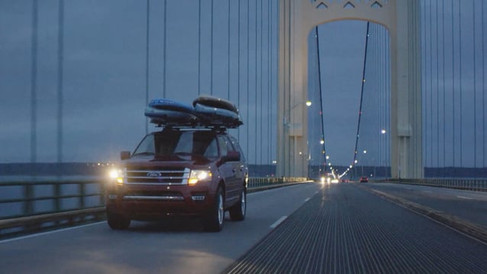 Ford Expedition - Paddle boarding Michigan
