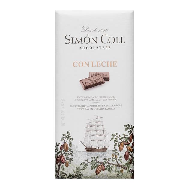 chocolate con leche 85 grs. Simon coll