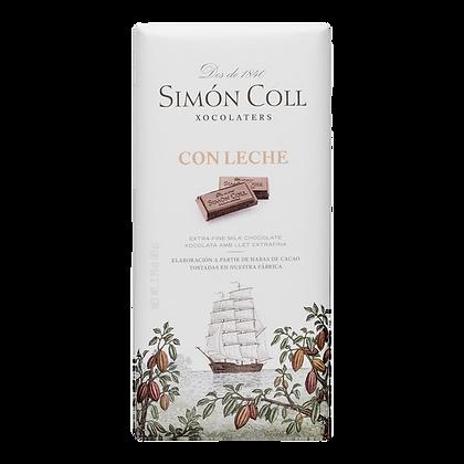 Chocolate Leche 85 grs. Simón