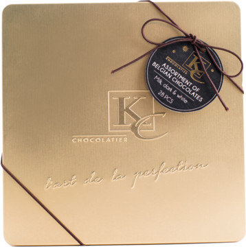 Lata Bombones KC 400 grs.Kim's Chocolates