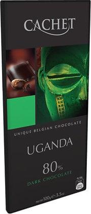 Chocolate Uganda 80% Cachet