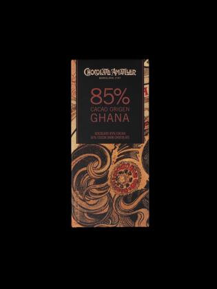 Tableta chocolate 85% Ghana 70 g Amatller