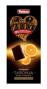 Zero negro con Naranja Torras