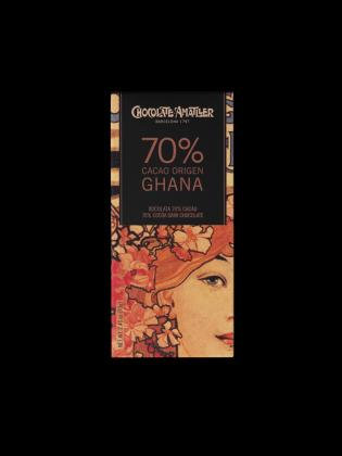 Tableta Chocolate 70 % Ghana 70 grs Amatller